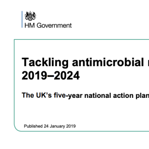Tackling antimicrobial resistance 2019-2024: The UK's five-year national plan